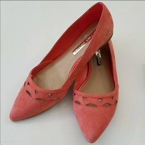 Women's 8.5 Coral Flats